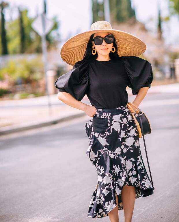 Женственное ретро: 15 элегантных образов модного блогера
