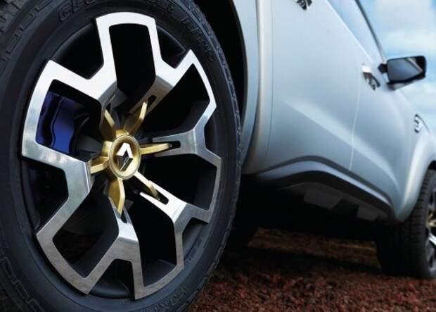 Renault представила пикап Alaskan (ВИДЕО)