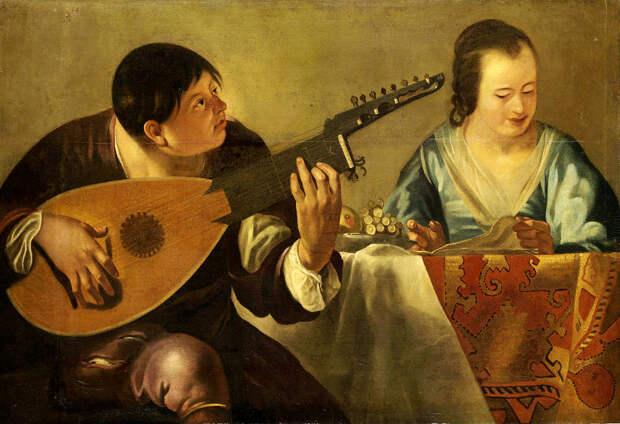 """Мужчины, которые наконец """"нашли свой звук"""", в классической живописи"""