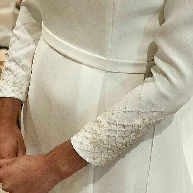 Утонченный декор платья (diy)