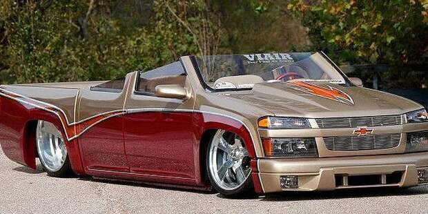 Пикап Chevrolet Colorado превратился в безумный родстер - ТЕЛЕГРАФ