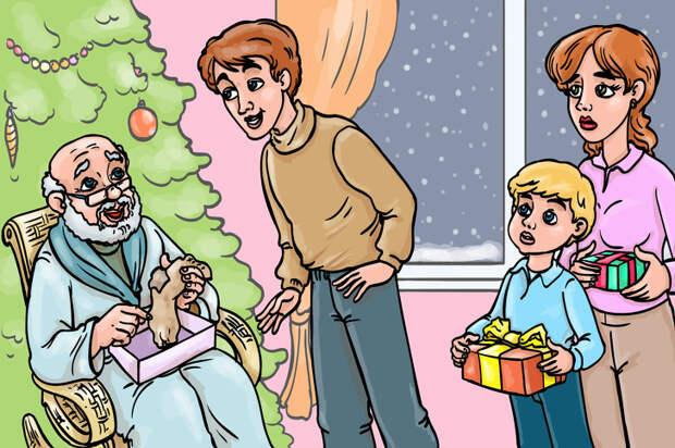 «Волшебный носок». История о маленьком чуде, случившемся под Новый год