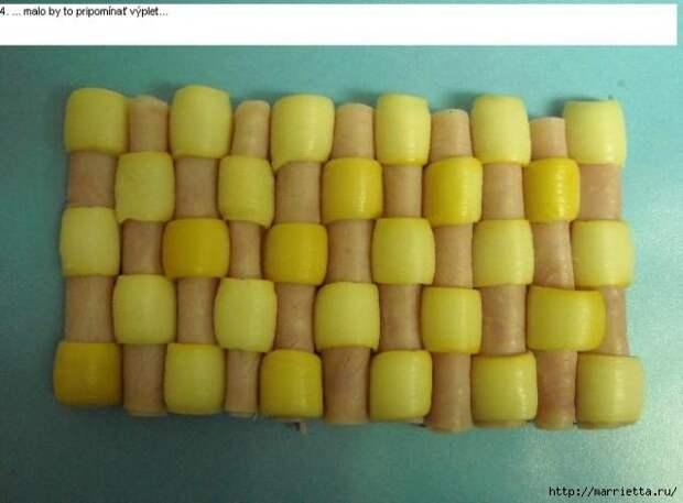 Соленый закусочный торт. Идеи оформления к ПАСХЕ (27) (640x472, 109Kb)