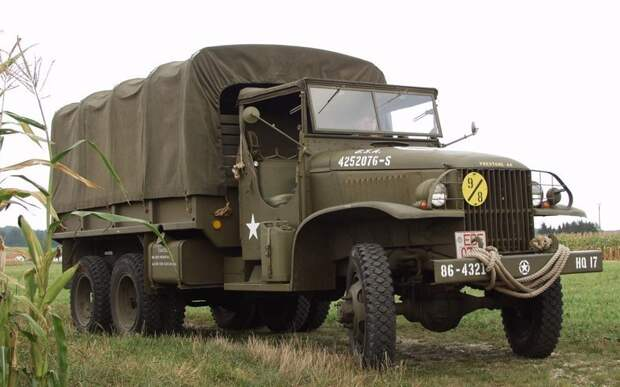 Студебекер Chevrolet G506, GMC CCKW, US6, вов, студебекер