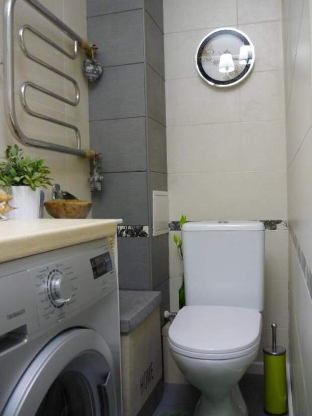 Расположение сантехники в ванной