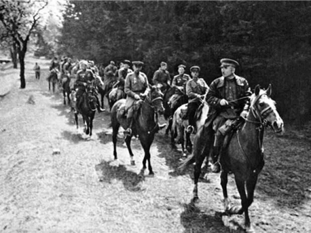 Последние бои советской кавалерии