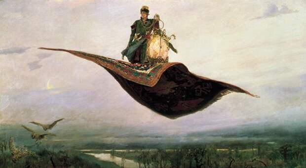 Былинная Русь в картинах Виктора Михайловича Васнецова.