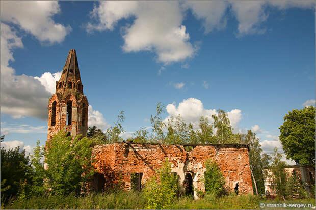 Красино-Убережное - церковь Святой Живоначальной Троицы