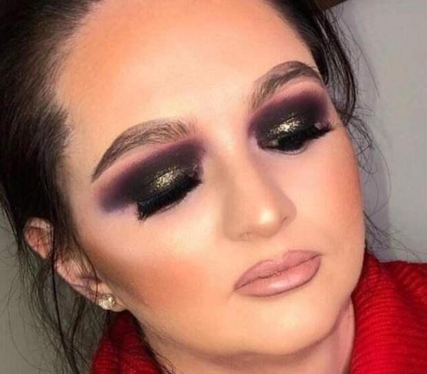 5. А вот когда профессиональный визажист делает неудачный макияж (а ему за это еще деньги платят), то это настоящий провал