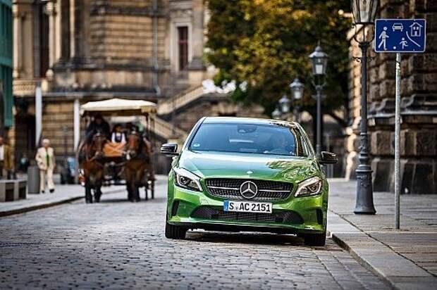 Mercedes-Benz A-класса: переворотный момент