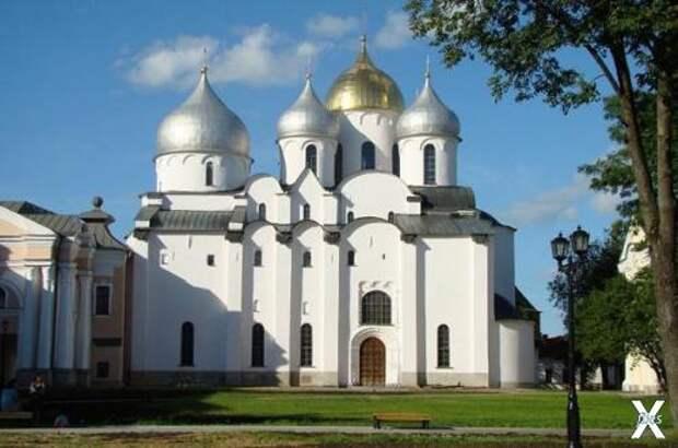 Софийский собор XI века в Великом Нов...