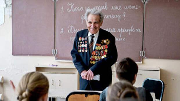Ветеран Великой Отечественной войны, минометчик Александр Черняев