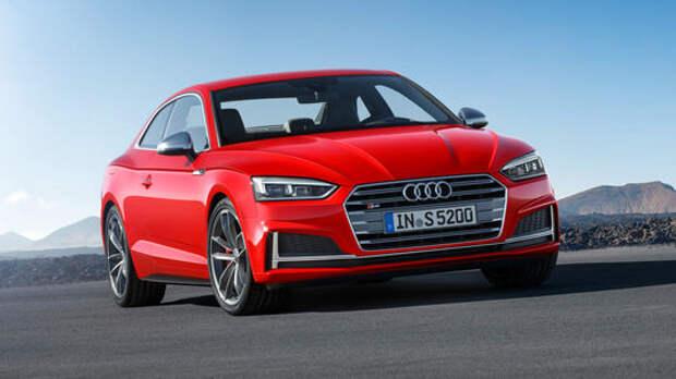 Новый Audi A5 не стал «ломать глаза»