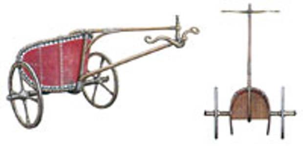 Боевая колесница бронзового века