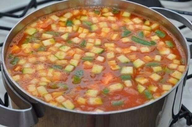 Итальянский овощной суп Минестроне