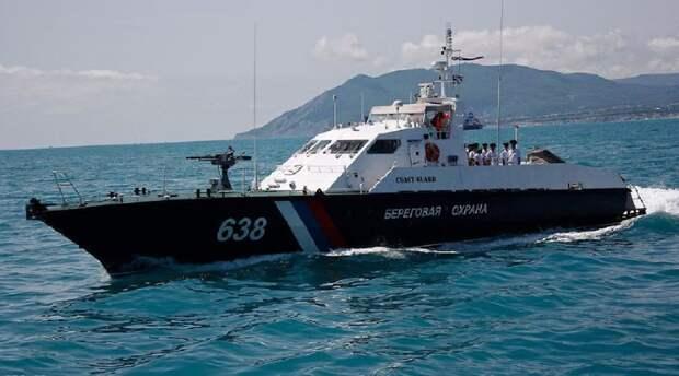 В Крыму задержали экипаж украинского судна, незаконно промышлявшего рыбой