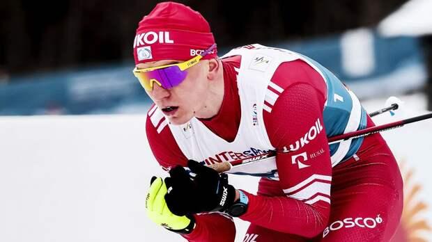 Большунов завоевал золотую медаль в спринте на чемпионате России