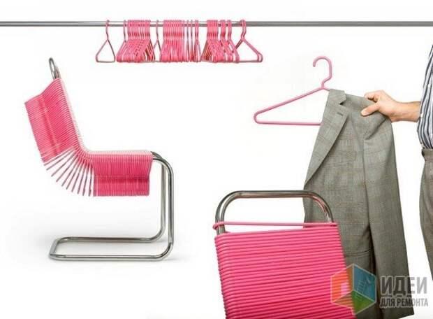 Идеи хранения одежды, дизайнерские многофунциональные вешалки