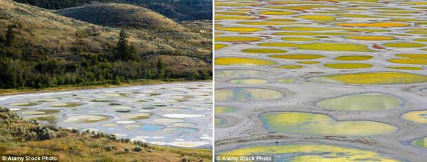 Пятнистое озеро Клилук