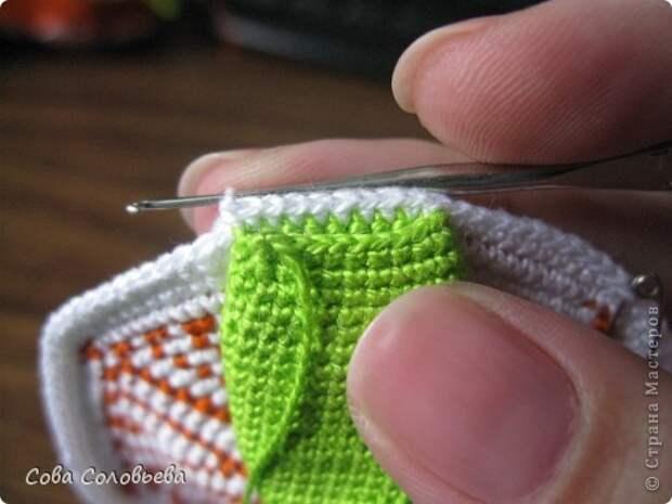 Игрушка Мастер-класс Вязание крючком изготовление Черепашки Пряжа фото 14
