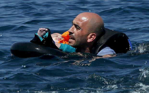 Сирийский беженец