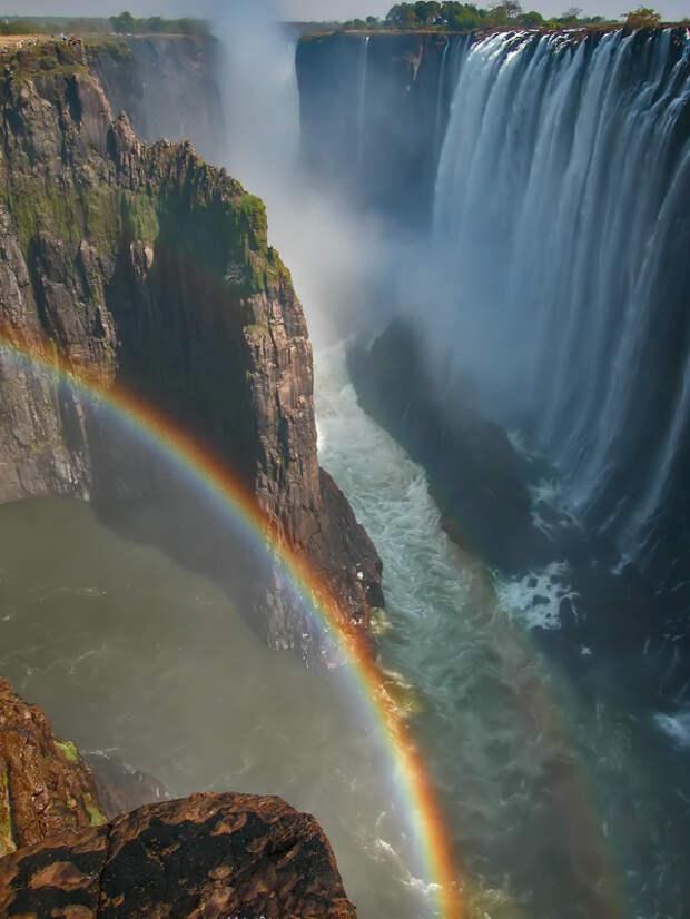 rainbow05 Радуга над самым большим водопадом в мире