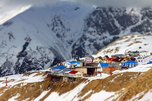 Домбай зима, курорт, лыжи, отдых