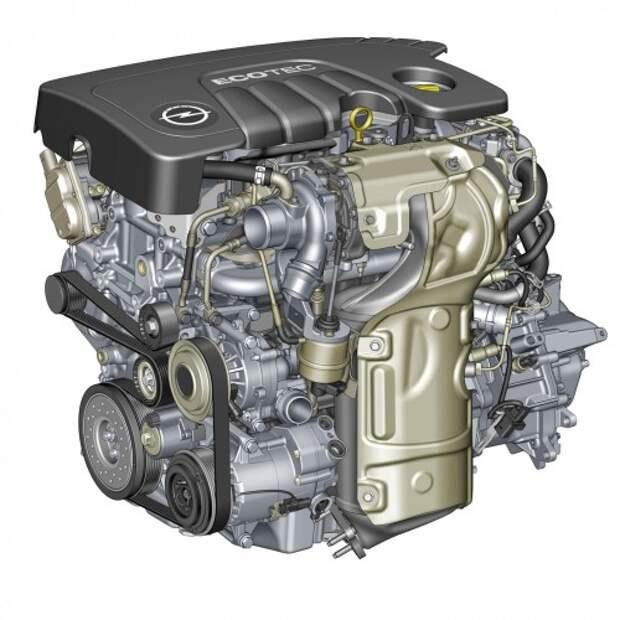 Новый дизельный мотор Opel Ecotec