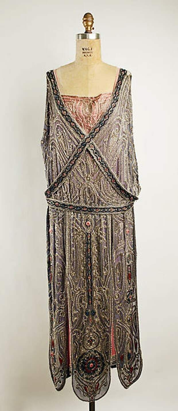 Антикварные платья 20-30-х годов (подборка)