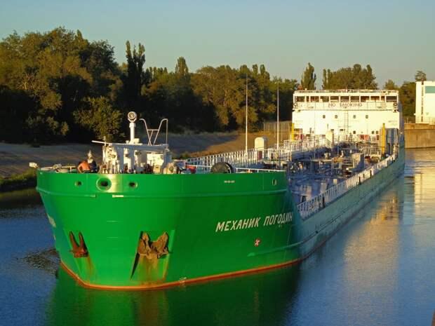 В Херсоне собираются арестовать российское судно Mekhanik Pogodin