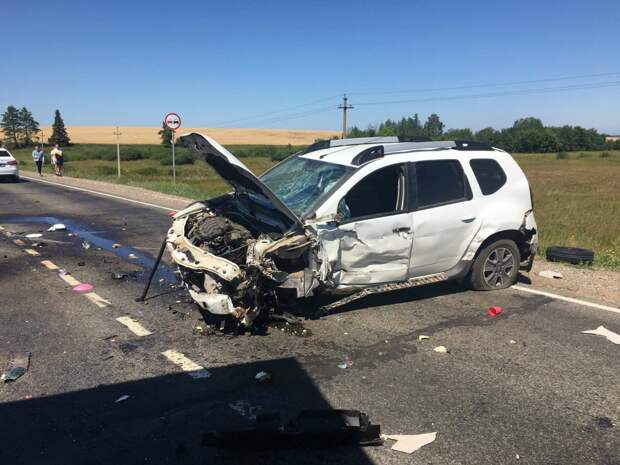 10 человек пострадали при ДТП в Можгинском районе