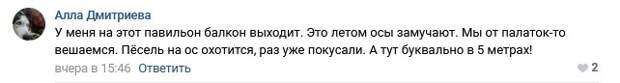 Новый павильон на Богатырском напустит в окна жилого дома ос – незаконная торговля в Приморском районе