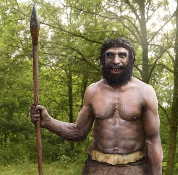 Чернокожие неандертальцы, чёрный голубоглазый кроманьонец?