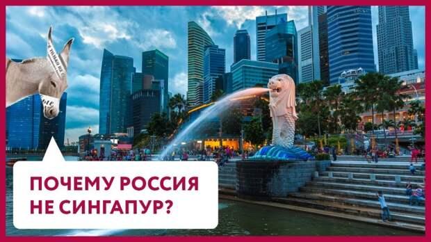 Почему Россия – не Сингапур? | Уши Машут Ослом (21)