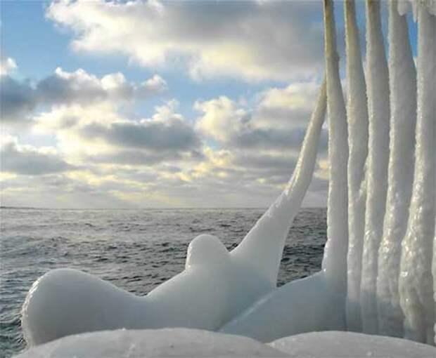 Зимнее море - это очень красивая штука