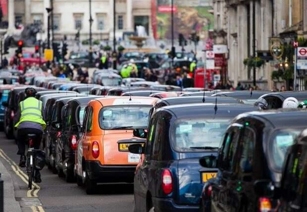 Автомобили в Лондоне