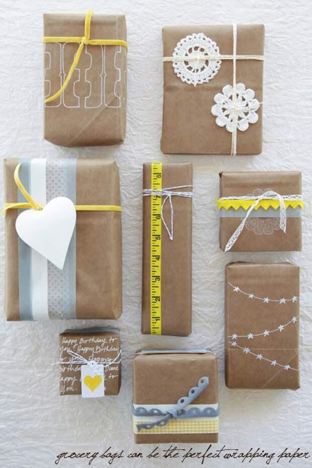 Упаковка подарка портнихе