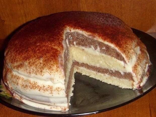 Кефирный тортик