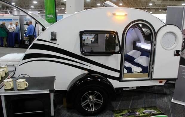 Трейлер Tag от nuCamp авто, дома на колесах, кемпинг, отдых, прицепы, трейлер, трейлеры, фото