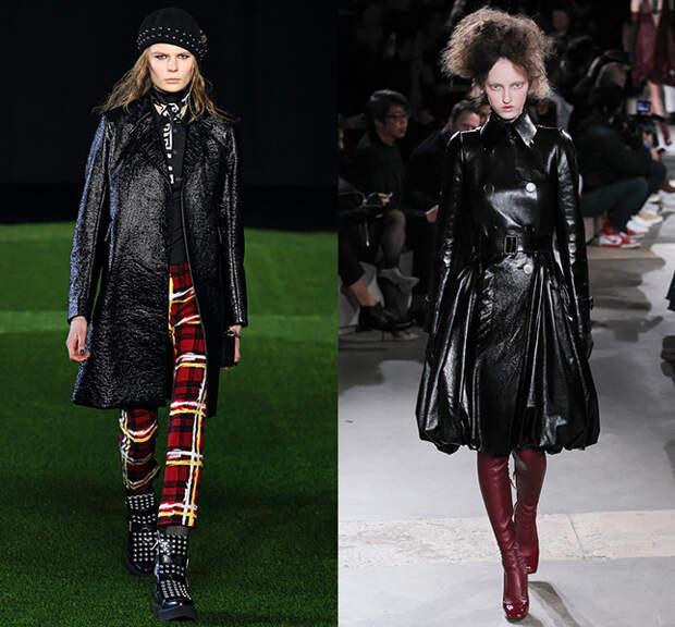 Слева — Marc by Marc Jacobs, справа — Alexander McQueen