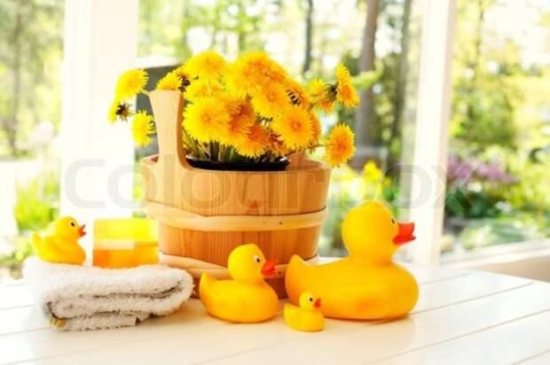 Польза ванн: березовые, с подорожником и одуванчиками