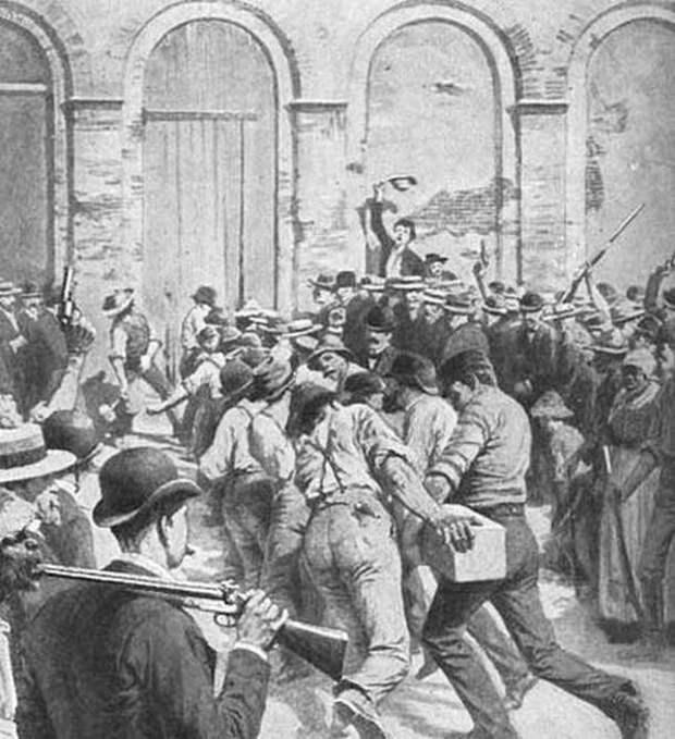 """150 лет Ку-клукс-клану. 50 лет в США """"суд Линча"""" существовал параллельно с официальным законом (2 статьи)"""