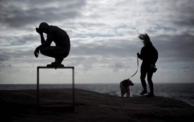 Выставка скульптур