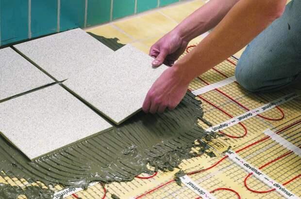 Выбираем теплый пол и напольное покрытие