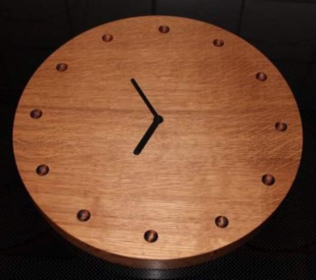 Деревянные часы своими руками
