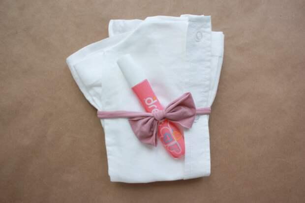 Комплектик из папиной рубашки (Diy)