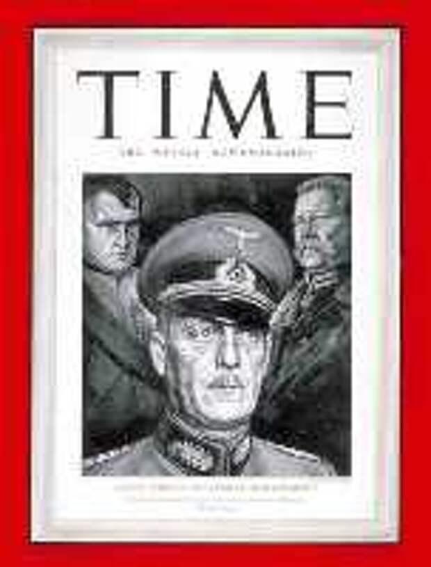 журнал Тайм, обложки журнала Тайм, Вильгельм Кейтель