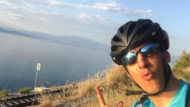 Греческий студент из-за карантина пересек Европу навелосипеде