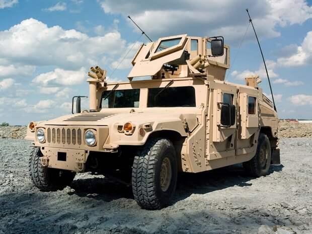Военный HMMWV авто, броневик, военная техника