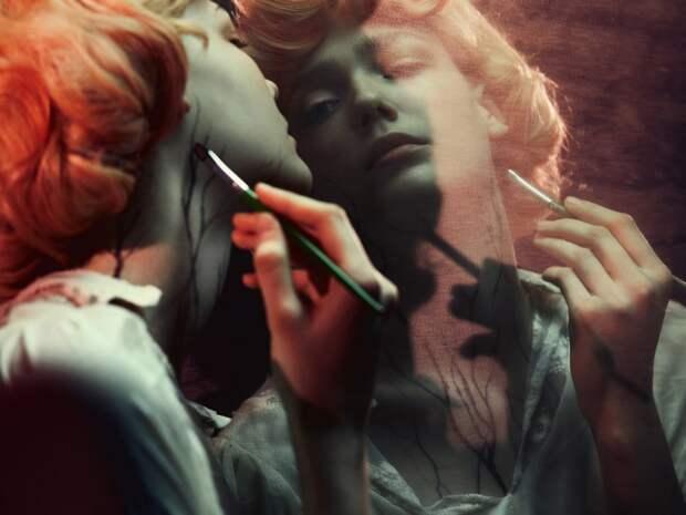 Мрачная красота в работах Бруно Дайана